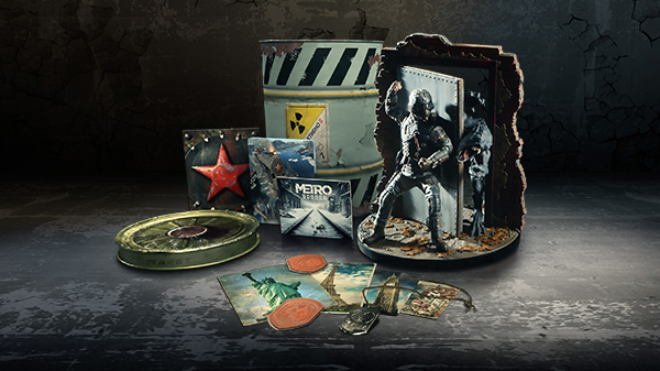 Metro Exodus 'Spartan Collector's Edition' announced