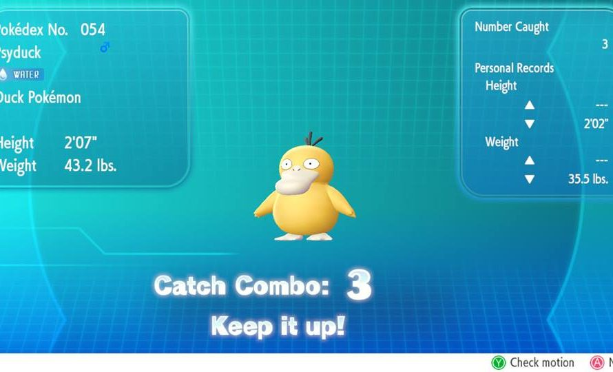 Pokemon Let's Go Guide – Catch Combo Rewards Detailed