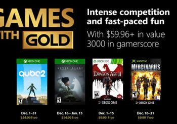 Xbox Live Games with Gold Free Games for December 2018 announced