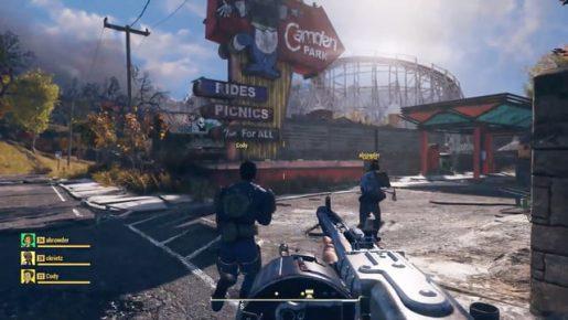 fallout 76 screen