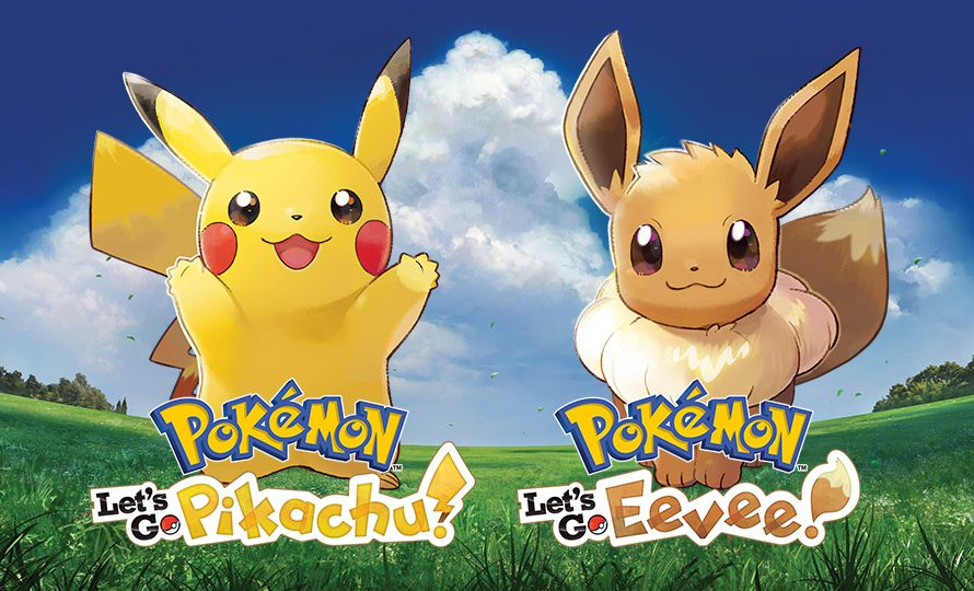 Pokemon: Let's Go, Pikachu! and Let's Go Eevee! now available for Switch