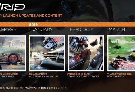 GRIP: Combat Racing Roadmap for 2019 detailed