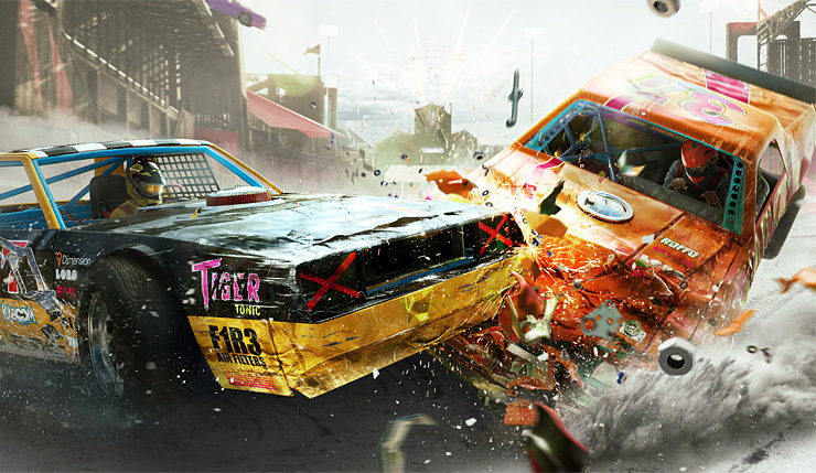 The Crew 2 Demolition Derby Mode Now Available Just Push Start