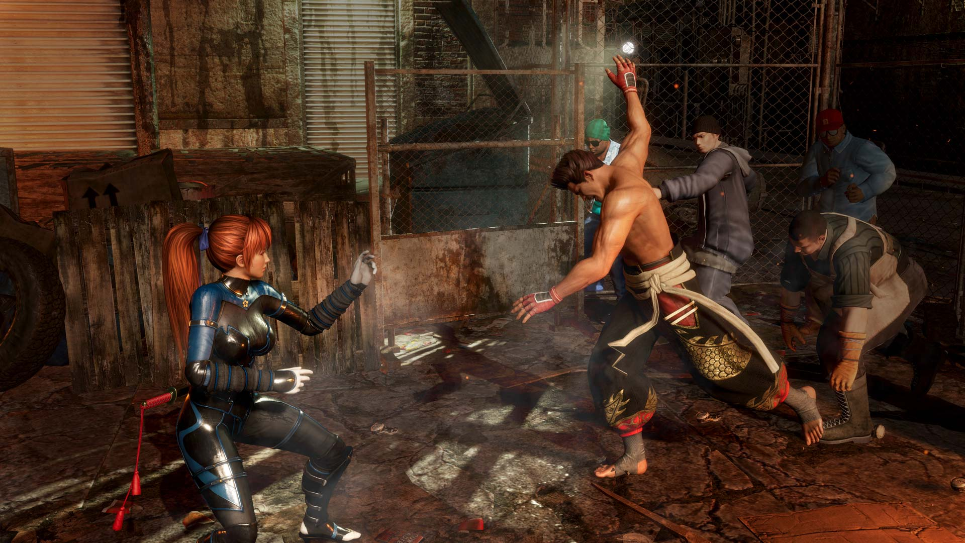 The Esrb Has Now Rated Dead Or Alive 6 Just Push Start