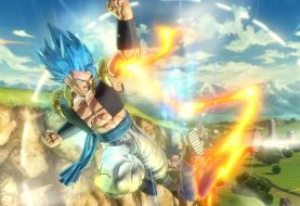 Gogeta Is Flying Into Dragon Ball Xenoverse 2 As DLC