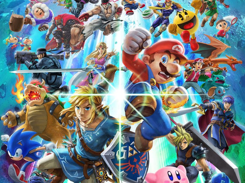 best fighting game of 2018 super smash bros ultimate just push