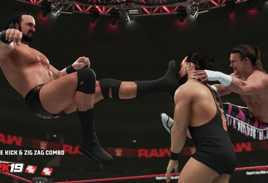 2K Games Releases New Details About The WWE 2K19 New Moves Pack DLC