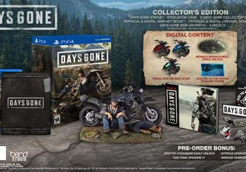 Days Gone Pre-Order Bonuses and Special Editions detailed