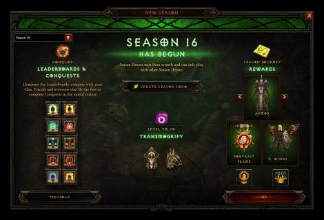 Diablo 3 Patch 2.6.4 Update Now Live; Season 16 Begins