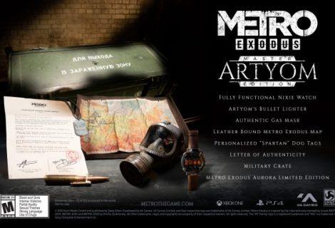 Metro Exodus 'Master Artyom Edition' announced
