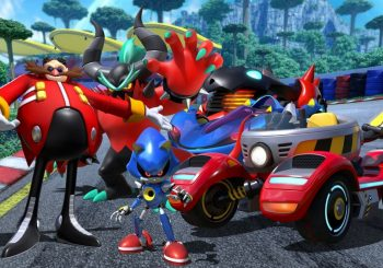 Team Eggman Is Driving To Team Sonic Racing
