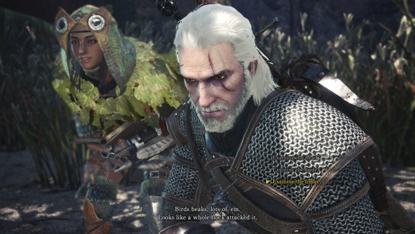 Monster Hunter: World x The Witcher 3 Collaboration now live for PS4 and Xbox One