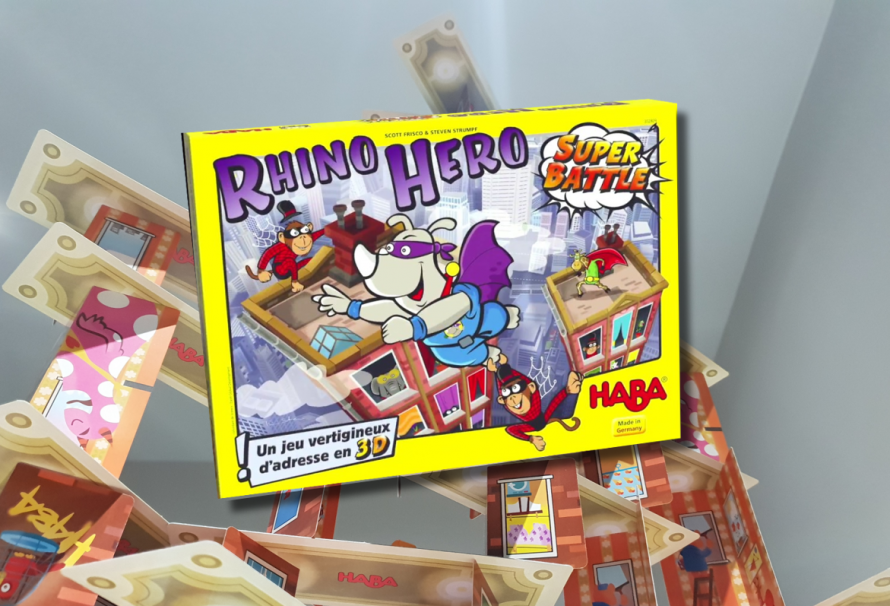 Rhino Hero Super Battle Review – Childlike Fun For All!