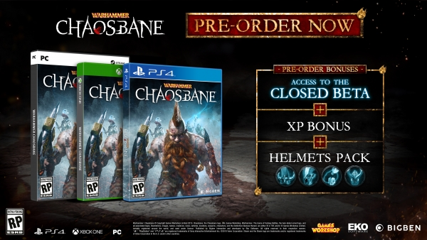 Warhammer: Chaosbane launches June 4 for PS4, Xbox One, and PC
