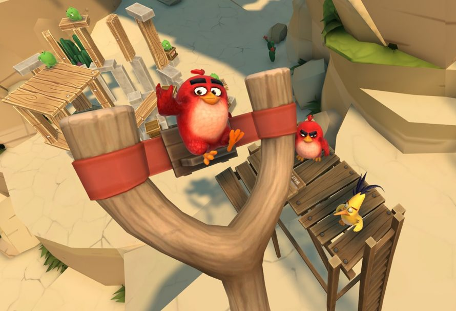 Angry Birds VR: Isle Of Pigs Out Now For Rift And Vive