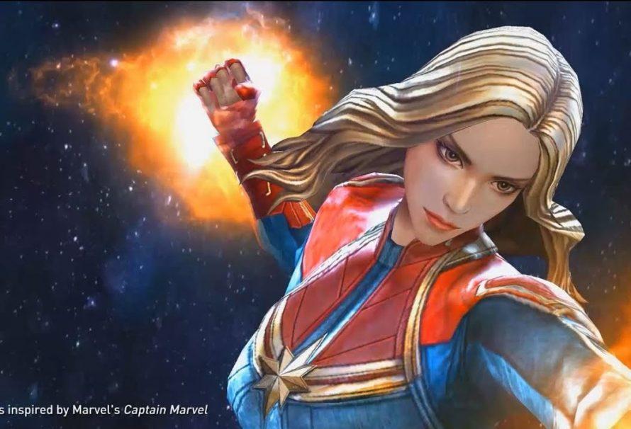 Captain Marvel Joins Marvel Future Fight
