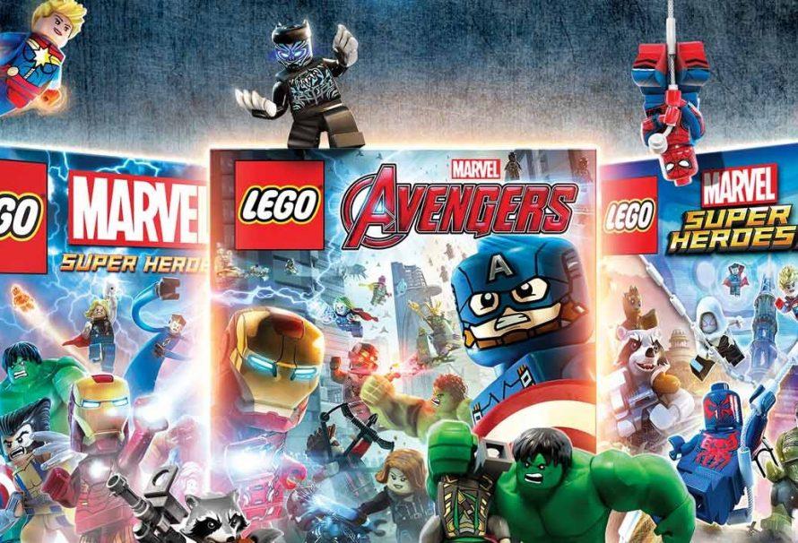 Lego Marvel Collection Adds Three Superhero Games