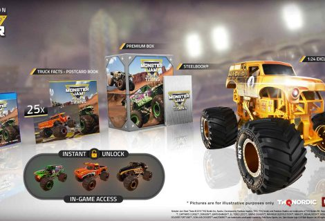 Monster Jam Steel Titans Receives A Release Date