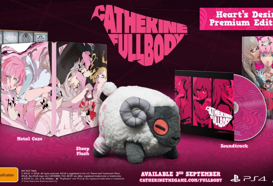 Release Date Announced For Catherine: Full Body