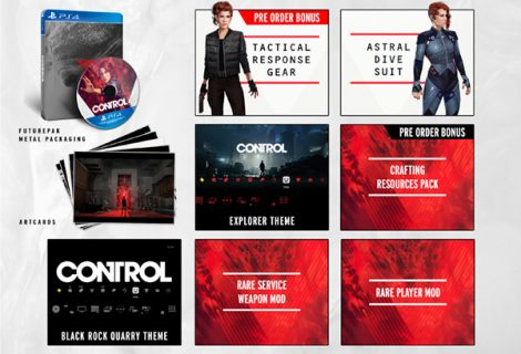 Control Pre-Order Bonuses and Expansion pass detailed