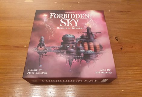Forbidden Sky Review - Cooperative Circuitry
