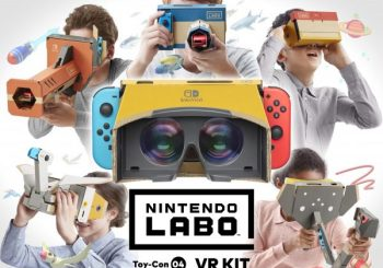 Nintendo Labo VR Kit announced for Switch