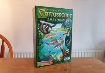 Carcassonne Amazonas Review - Race Down The Iconic River