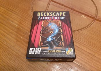 Deckscape: Behind the Curtain Review - A Magical Escape Room Adventure