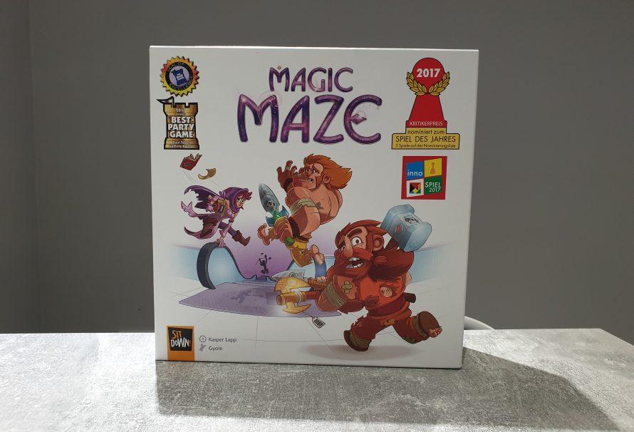 Magic Maze Review – Shopping Mall Adventures Await