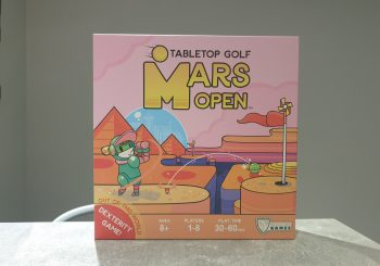 Mars Open Tabletop Golf Review - Out Of This World