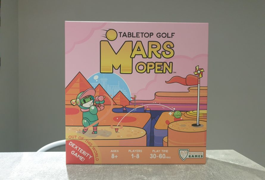 Mars Open Tabletop Golf Review – Out Of This World