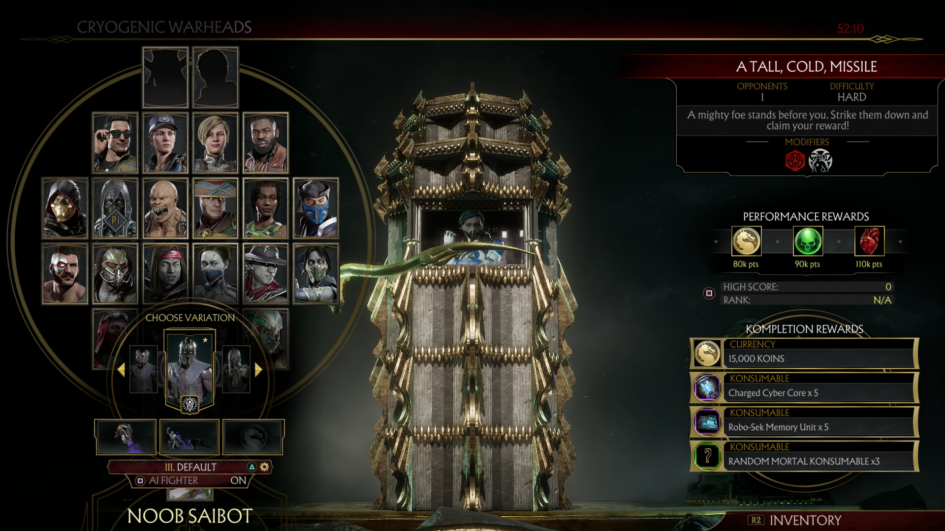 Mortal Kombat 11 - How to Easily Beat Most Towers of Time - Just