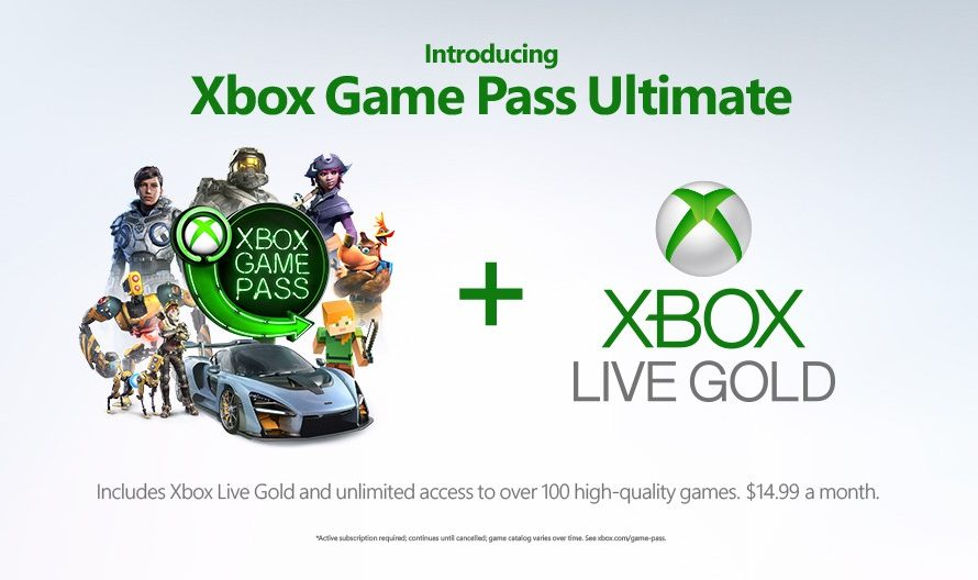 Xbox Game Pass Ultimate announced; Launches later this year for $14.99 a month