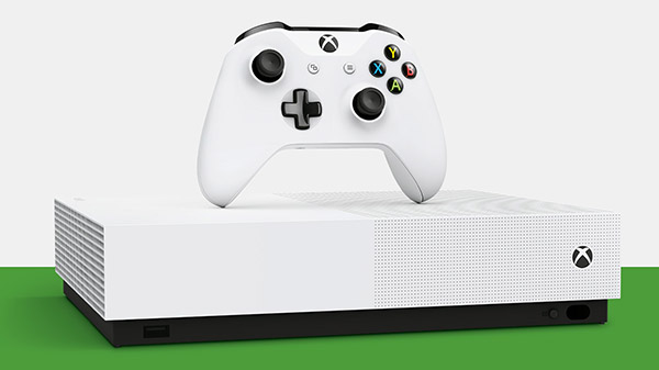 Xbox One S All-Digital Edition officially announced; launches May 7