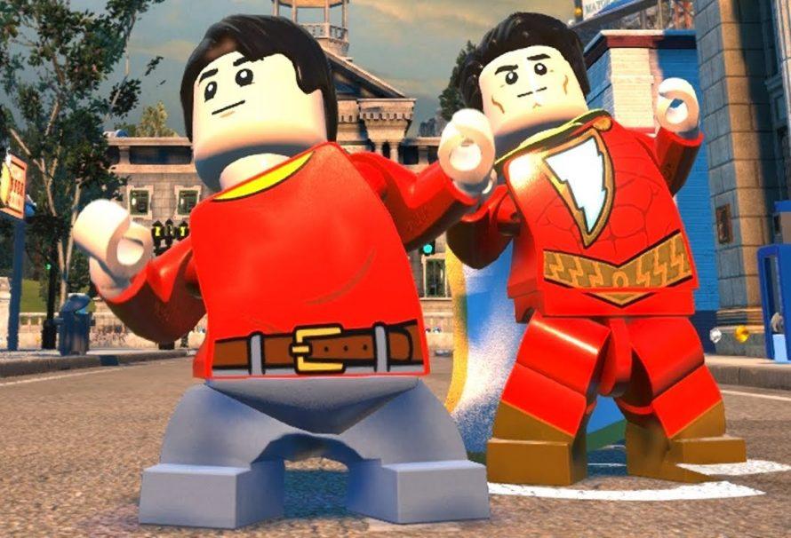 LEGO DC Super-Villains Adds Shazam Movie DLC