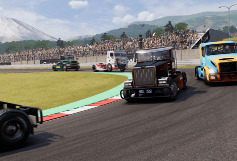 Truck Racing Championship Driving To Stores In July 2019