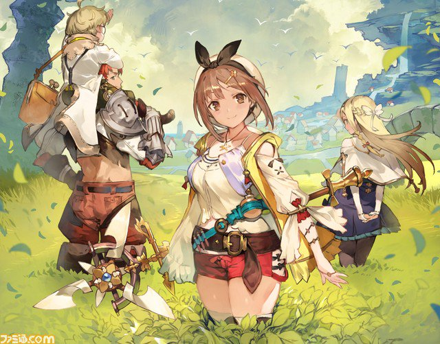 Gust announces Atelier Ryza for PS4, Switch and PC