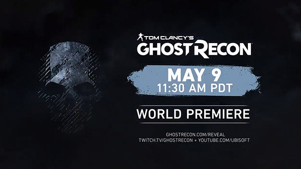 Ghost Recon reveal announcement set for May 9th
