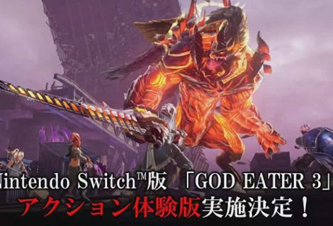 God Eater 3 demo for Switch announced; Version 1.40 update detailed