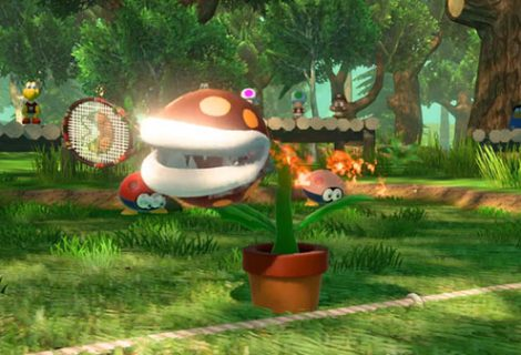 Mario Tennis Aces 'Fire Piranha Plant' trailer released