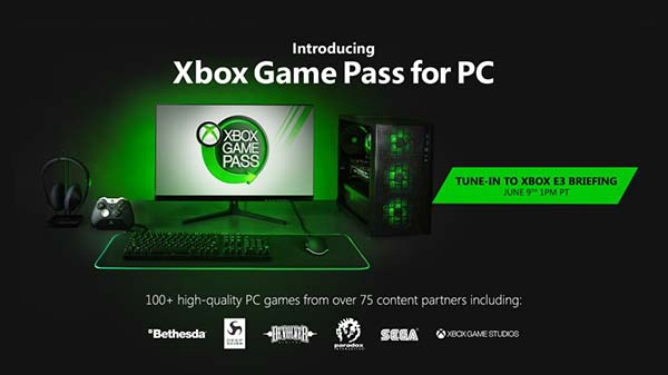 Xbox Game Pass coming to PC soon