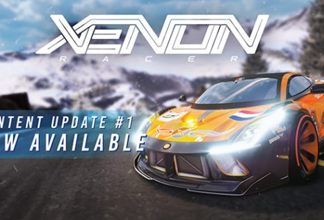 Xenon Racer 'Grand Alps' update now live