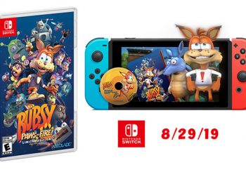 Bubsy: Paws on Fire! Switch Release Date Revealed