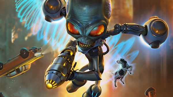 Destroy All Humans! First Gameplay Video From E3 - Just Push