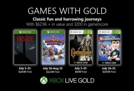 Xbox Live Games with Gold for July 2019 revealed