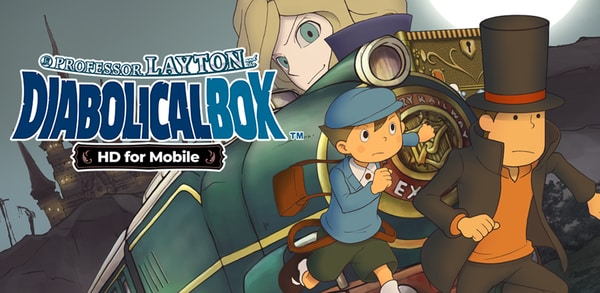 Professor Layton and the Diabolical Box HD now available for iOS and Google Play
