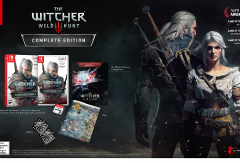 The Witcher 3 Complete Edition coming to Switch this year