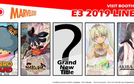 XSEED Games E3 2019 Lineup Announced