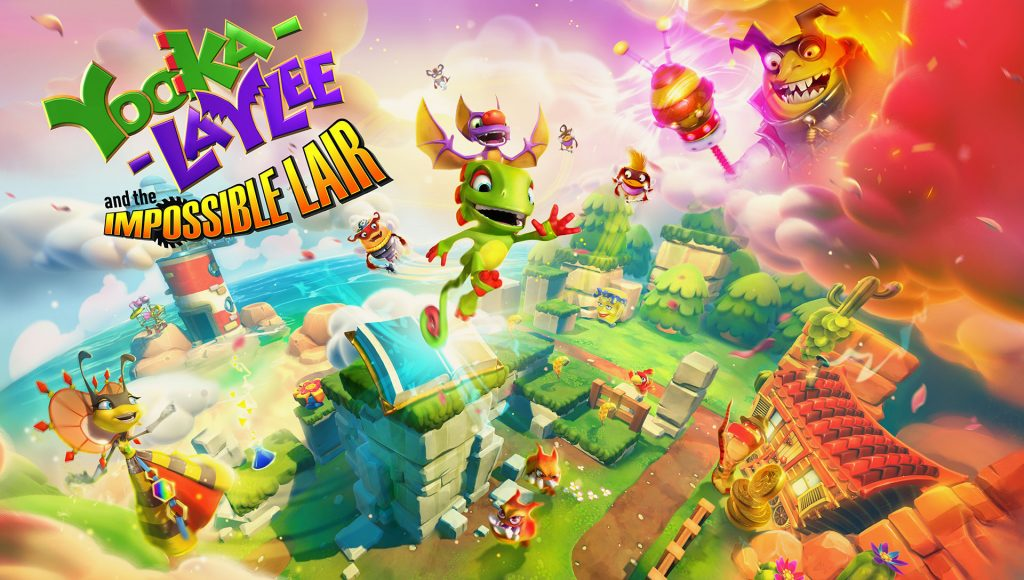 Yooka-Laylee and the Impossible Lair EGX 2019