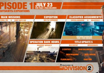 The Division 2 Episode 1 - DC Outskirts: Expedition gets a release date; Upcoming content detailed